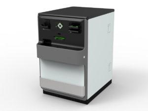 Um Kosten für die Bargeld-Abwicklung an SB-Kassen zu verringern, hat NCR ein Bargeld-Modul entwickelt, das zwei SB-Stationen parallel versorgen kann.