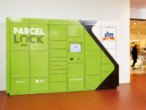 Anbieteroffene Paketstation bei dm-drogerie markt