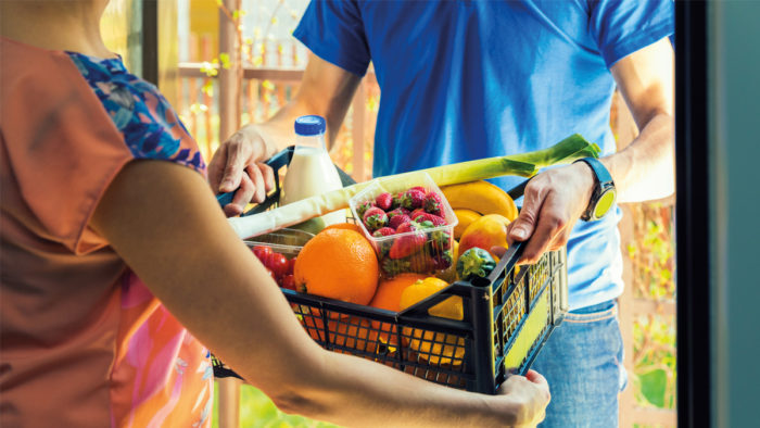 Der Umsatz im Bereich E-Food wächst.