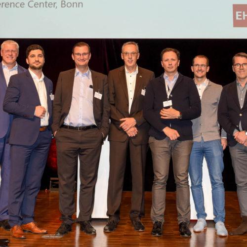 CIO-Panel: Olaf Schrage (Deichmann) Catalin Barbulescu (bofrost), Oliver Tackmann (Obi), Richard Kneis (Alnatura), Peter Graschi (Tally Weijl), André Neubauer (Mister Spex), Markus Lacher (Leineweber)