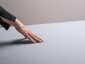 Anti-Fingerprint-Oberflächen wie hier von Resopal sind eine sehr praktische Innovation
