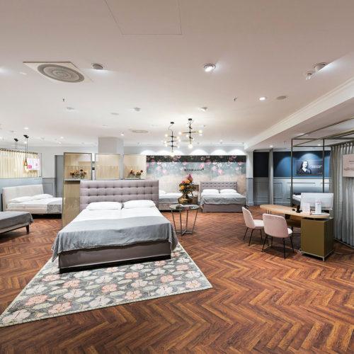 Bettenrid in München setzte beim Umbau seines Untergeschosses auf das Konzept Generalunternehmer.