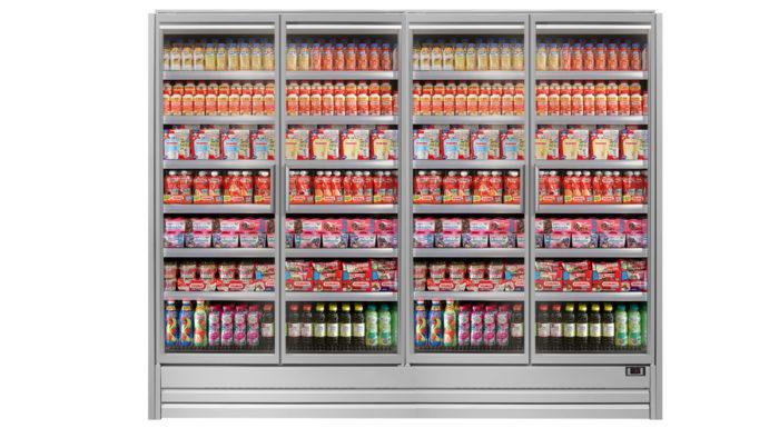 Epta-Kühlmöbel mit größerem Innenvolumen und Wasserkreislaufsystem