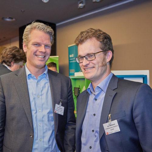 Lars Reimann, HDE e.V., und Jan Wollesen, E.ON Business Solutions