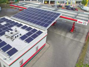 """Die Solarpanels in Hamburg wurden von der """"ENnergy"""" GmbH konzipiert."""