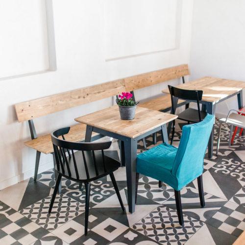 Die Inhaberin Renate Jung bekam die Idee, das Konzept des Stores um ein gastronomisches Angebot zu erweitern.