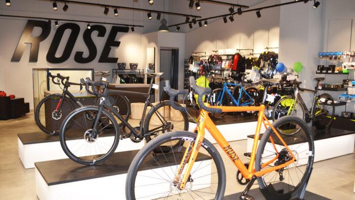 Rose Bikes sind bald auch in der Schweiz stationär erhältlich
