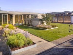 """Bis hin zum Dach: Sowohl Bau und Einrichtung als auch die Sortimente sind """"grün"""""""