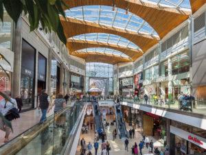 Highcross-Shopping-Center in Leicester/Großbritannien
