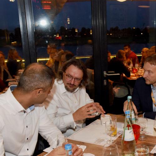 Abendveranstaltung im Restaurant Josephs im Rheinauhafen