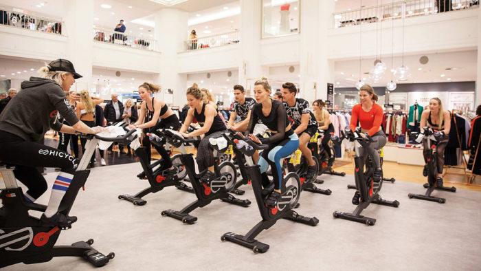 """Hicycle"": Cardio-Party aus New York im Alsterhaus Hamburg"