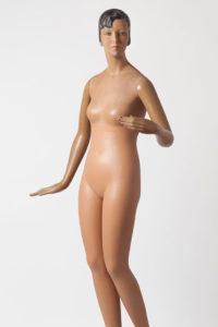 """Figur """"Lulu"""" von 1928 aus Papiermaché"""