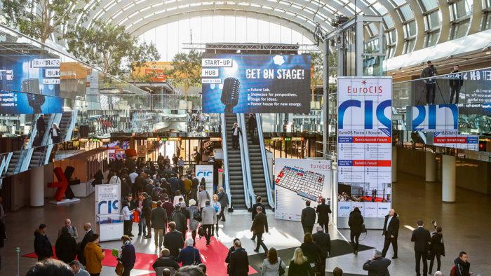 Vom 19. bis 21. Februar 2019 findet die Fachmesse EuroCIS in Düsseldorf statt.