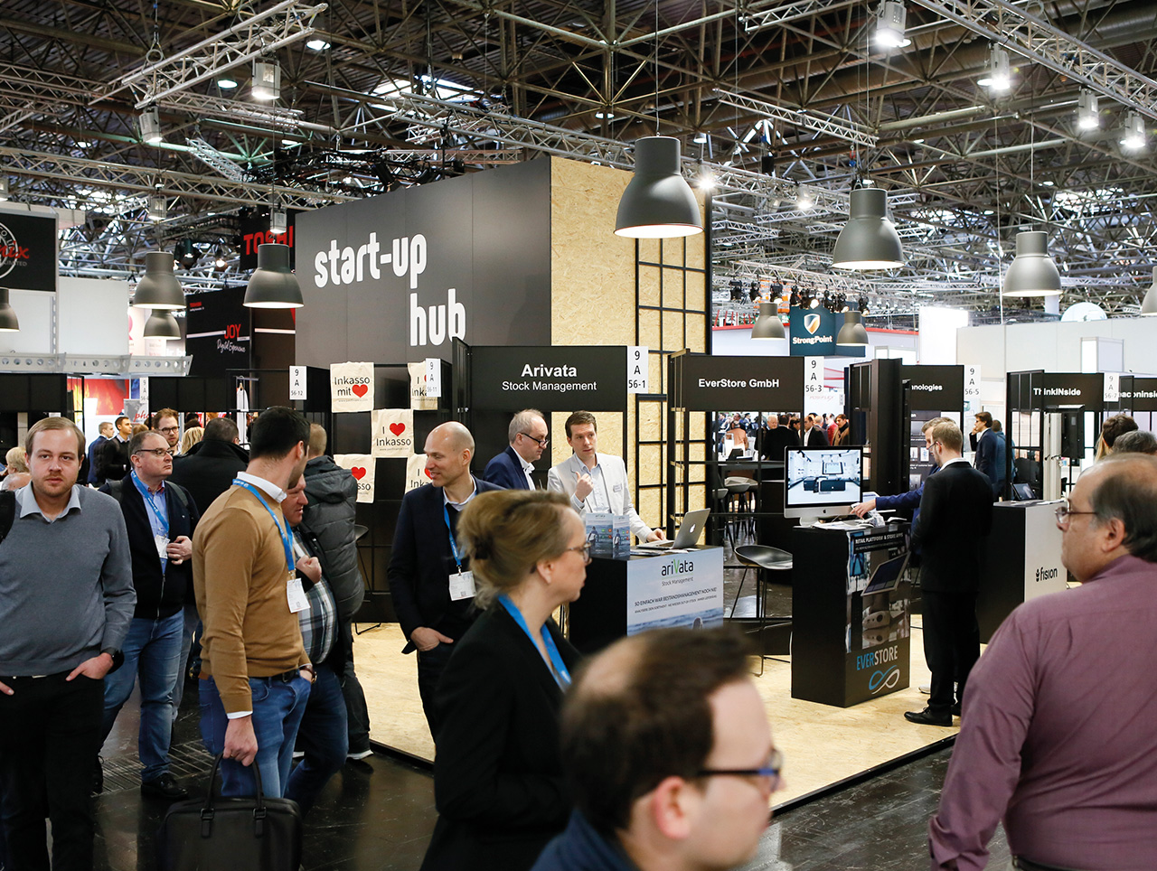 Start-up Hub auf der EuroCIS