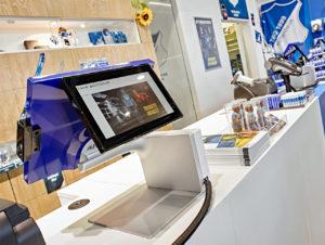 """Mit den Produktlinien """"Twist"""" und """"Jazz"""" präsentiert Aures auf der EuroCIS seine neuesten POS-Kassensysteme"""