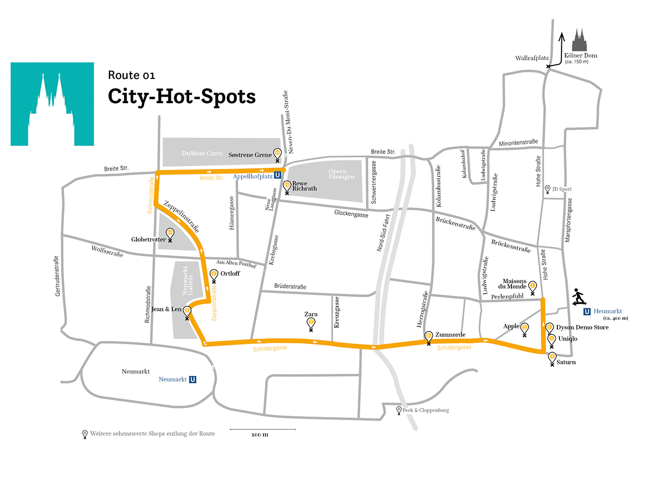 Köln – City Hot-Spots