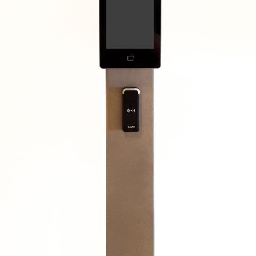 Elektronische Zutrittskontrolle von Salto