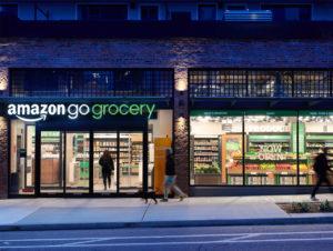 Erfinder des Grab-and-Go-Konzepts: Amazon gilt mit Amazon Go als Vorreiter des autonomen Einkaufs.