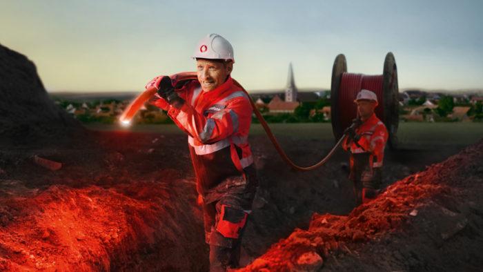 Der Ausbau leistungsfähiger Breitbandnetze geht voran.