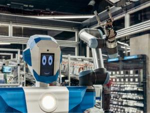 Über den Namen des Roboters haben Conrad Fans im Rahmen eines Gewinnspiels auf Social Media abgestimmt.