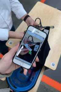 Mobile Checkout bei Decathlon