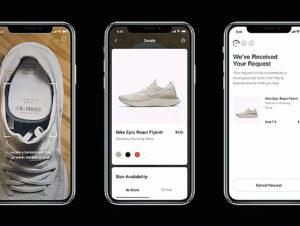 Die Nike-App verändert ihr Verhalten, je nachdem, wie weit der Kunde von einem Nike-Store entfernt ist