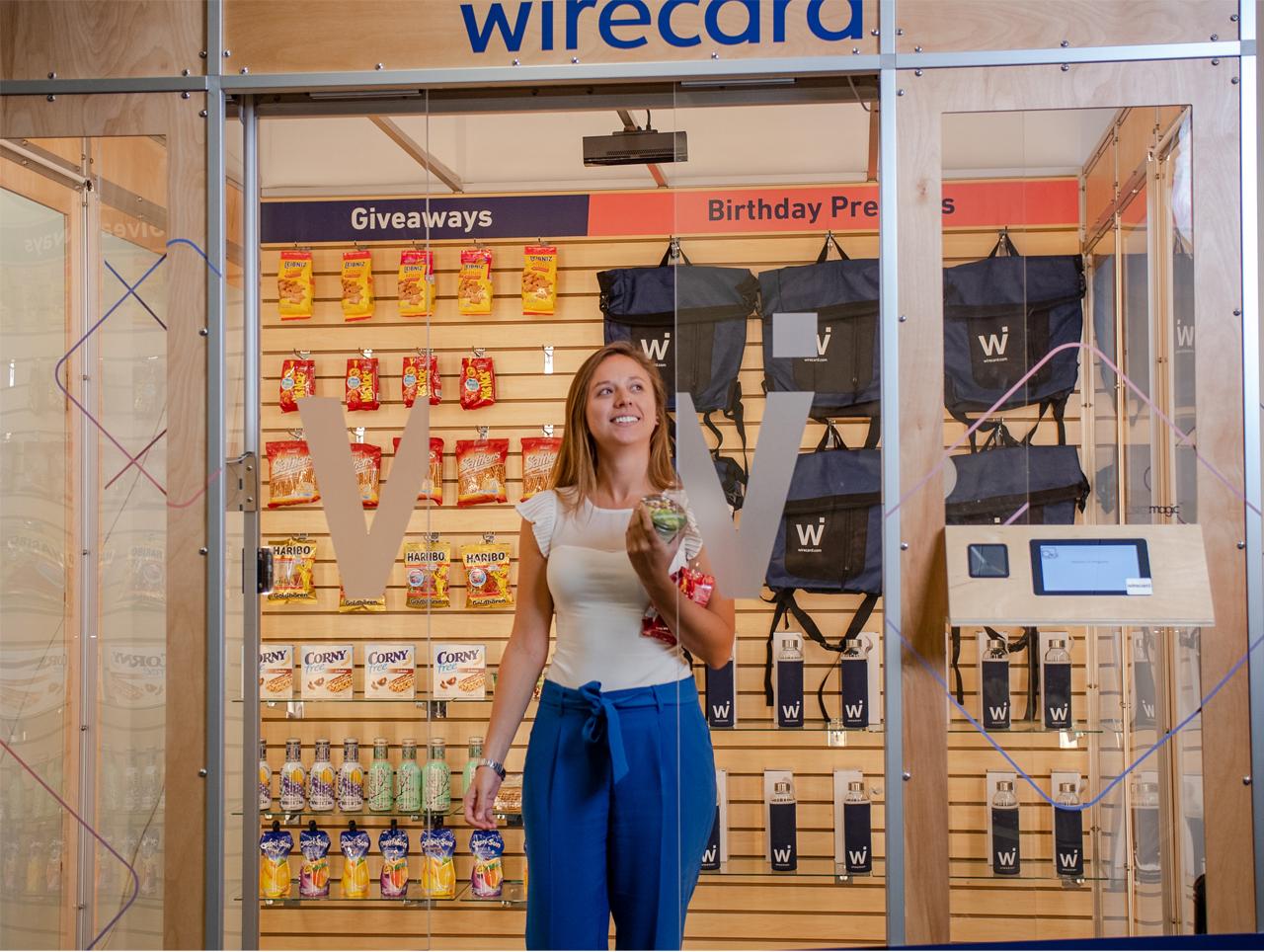 Die Zahlung wird beim Verlassen des Stores automatisch ausgelöst.