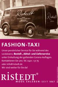"""Neuer Service von Jens Ristedt: das """"Fashion Taxi"""""""