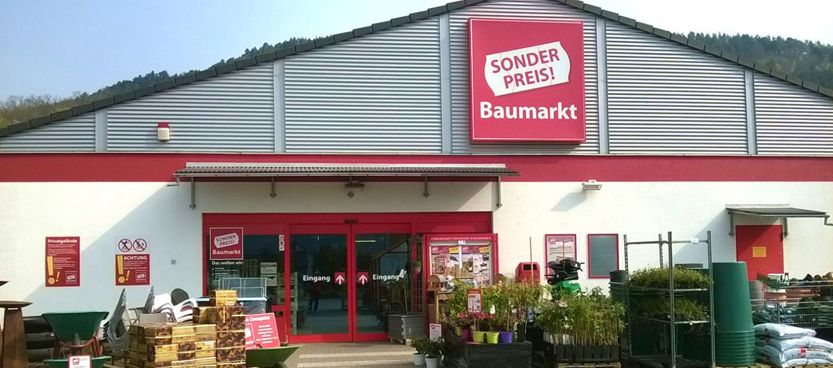 Sonderpreis Baumarkt eröffnet neue Filialen.