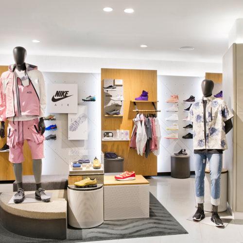 Der Nike-Shop im Nordstrom Men's Shop.