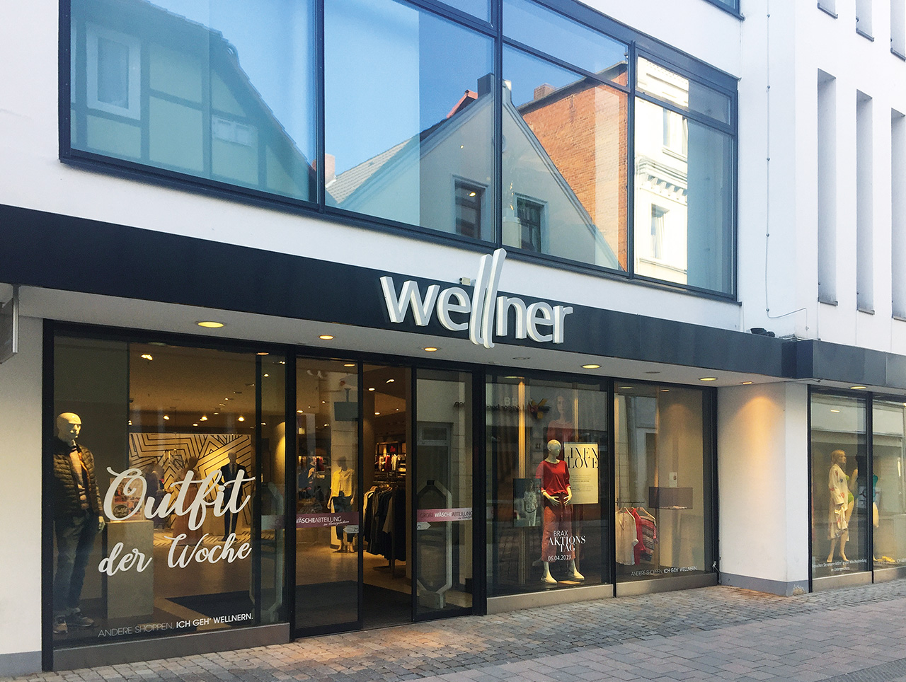 Modehaus Wellner in Hameln