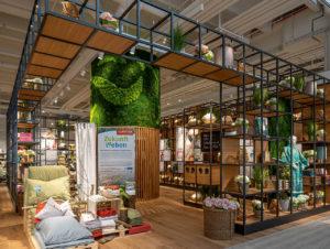 Der neu eröffnete Flagship-Store von Betten Reiter in Wien-Vösendorf wartet mit einer interaktiven Infotainment-Fläche auf.