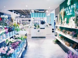 """Im Modehaus Ranck in Sulingen geht es nun vom Blumenshop weiter in die """"Pflanzbar"""", das neue vegetarische Bistro."""