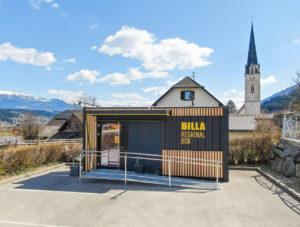 Billa: Container-Shop für Österreich