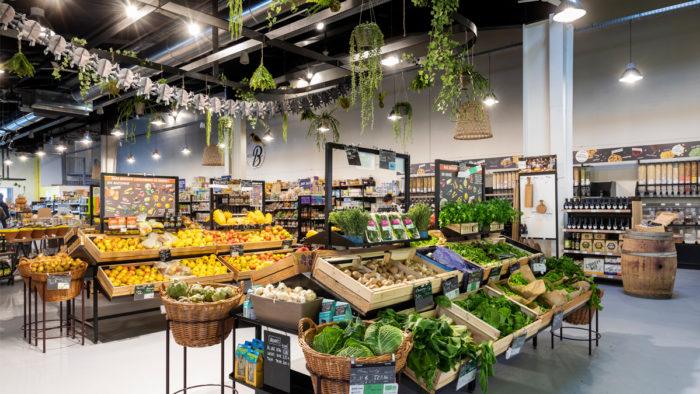 Biocoop Bonheur holt die Natur in den Store.