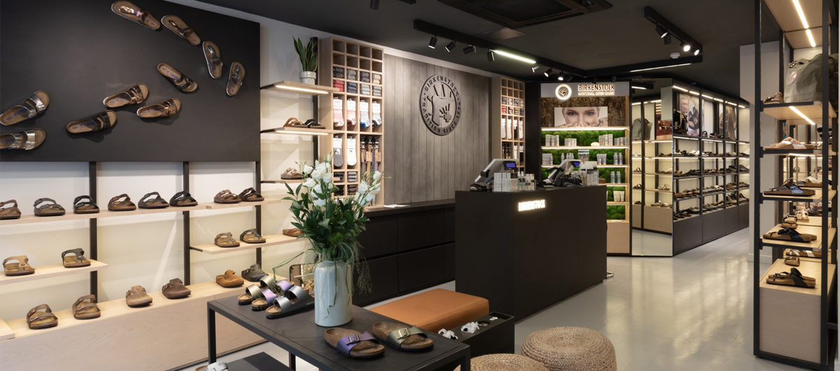 Neues Store-Design von Birkenstock