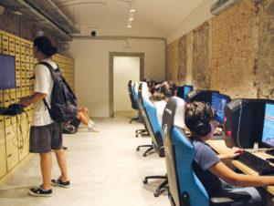 Die Bankfiliale als Co-Working-Space und mit Gaming- Room