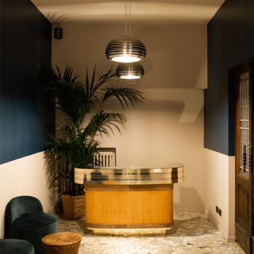 Luca Piccino vom Mailänder Atelier P kreierte das Store-Konzept.