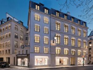 Die neue Chanel-Boutique an der Rue Cambon