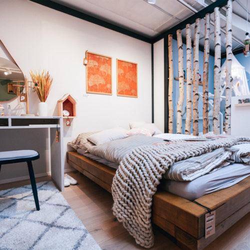 Wohnkoje: Schlafzimmer