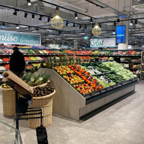 Obst- und Gemüse-Abteilung