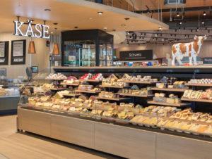 Internationale Käse-Auswahl
