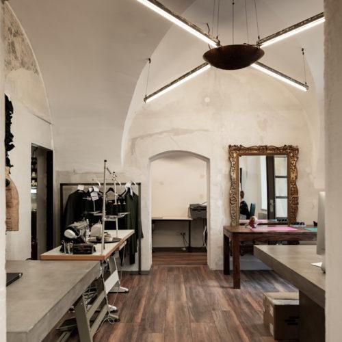 Mittlerweile auch für Konsumenten zugänglich: das Schneider- und Design-Atelier