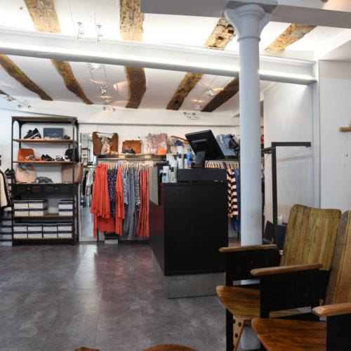 Mono-Store und Showroom