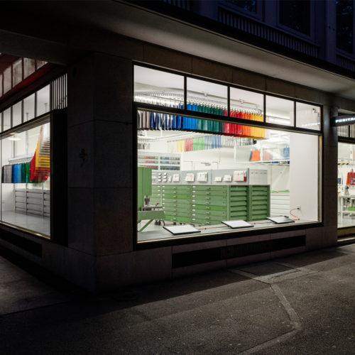 Die Fassade des Züricher Shops