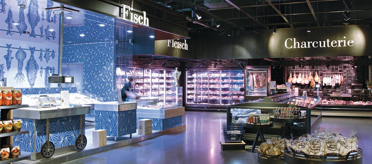 Frische-Paradies: eigenständiger Gourmet-Markt in Zürich
