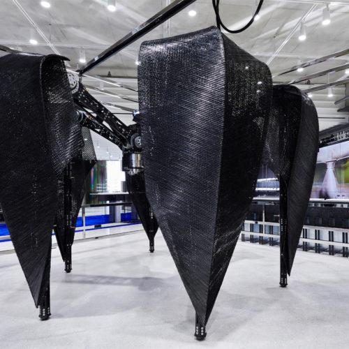 """Eigens von Gentle Monster im Labor kreiert: der Roboter """"The Probe"""""""