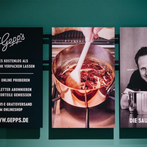 Persönlichkeit spielt im Store eine große Rolle. Das Foto zeigt die Gepp's-Gründer Roja und Alexander Gepp.