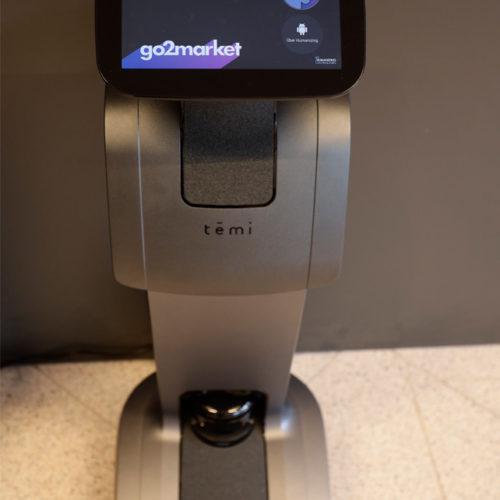 Kommt ebenfalls zum Einsatz: der autonom fahrende Roboter Temi