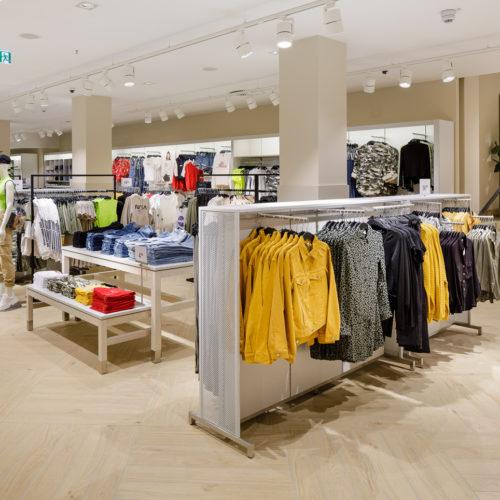 Der Store misst insgesamt 2.750 qm.